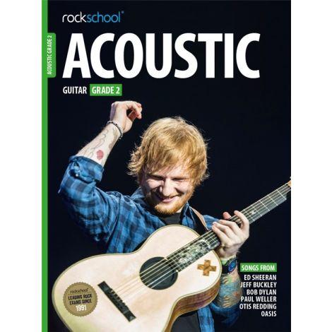 ROCKSCHOOL ACOUSTIC GUITAR GRADE 2 2016 GTR BOOK