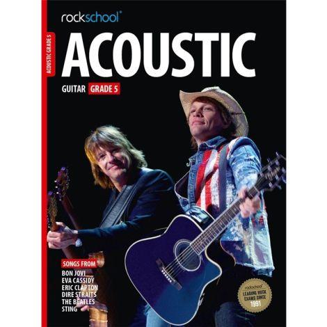 ROCKSCHOOL ACOUSTIC GUITAR GRADE 5 2016 GTR BOOK