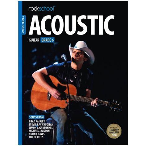 ROCKSCHOOL ACOUSTIC GUITAR GRADE 6 2016 GTR BOOK