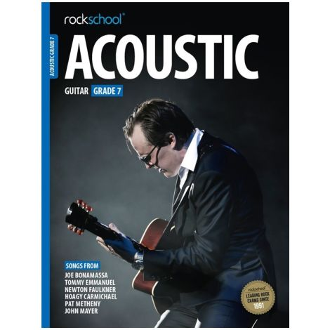 ROCKSCHOOL ACOUSTIC GUITAR GRADE 7 2016 GTR BOOK