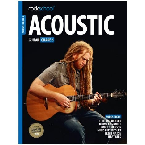 ROCKSCHOOL ACOUSTIC GUITAR GRADE 8 2016 GTR BOOK