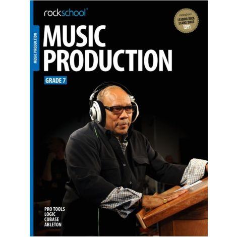 ROCKSCHOOL MUSIC PRODUCTION GRADE 7 2016 BOOK