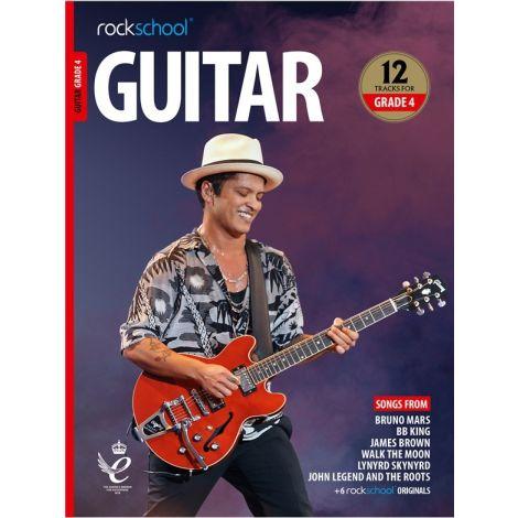 ROCKSCHOOL GUITAR GRADE 4 2018+ BK/AUDIO