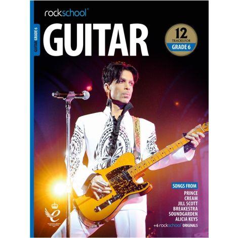 ROCKSCHOOL GUITAR GRADE 6 2018+ BK/AUDIO