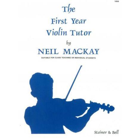 Mackay: First Year Violin Tutor