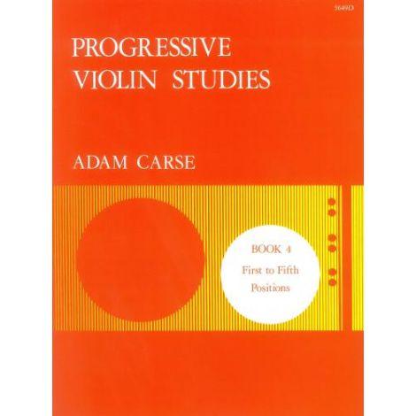 Carse: Progressive Violin Studies. Book 4