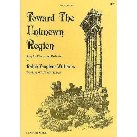 Toward the Unknown Region (SATB) Vocal Score