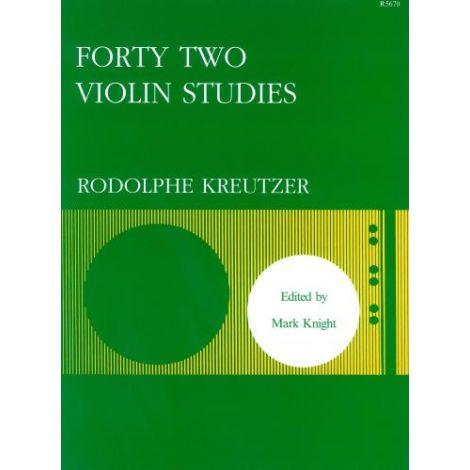 Kreutzer: 42 Studies (Violin Solo)