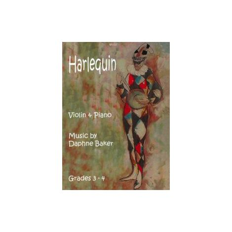 Harlequin for violin & piano