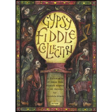 Gypsy Fiddle Collection with CD - Gruen (Violin So