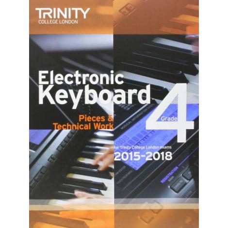 TRINITY COLLEGE LONDON: ELECTRONIC KEYBOARD (2015-2018) GRADE 4