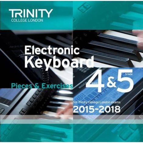 TRINITY COLLEGE LONDON: ELECTRONIC KEYBOARD CD (2015-18) GRADES 4 & 5