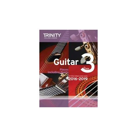 TCL Trinity College London Guitar Exam Pieces Grade 3 2016-2019