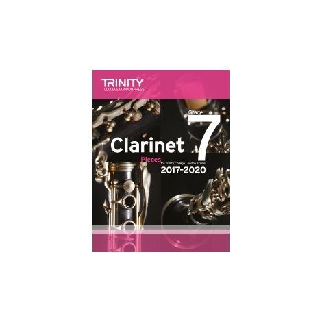 Trinity Clarinet Exams 2017-2020 Grade 7 Score+pt