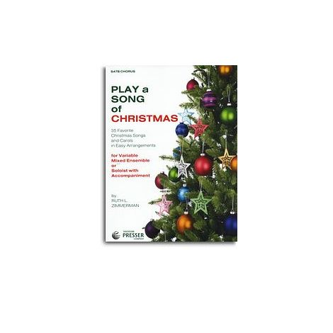 Play A Song Of Christmas - Variable Mixed Ensemble Or Solo With Accompaniment (SATB)