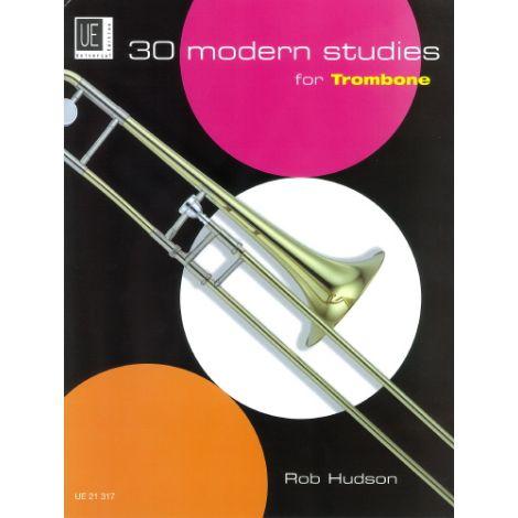 30 Modern Studies for Trombone (Bass Clef)
