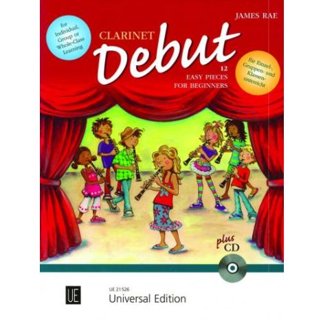 Clarinet Debut-12 Easy Pieces for Beginners (Pupil's Book)