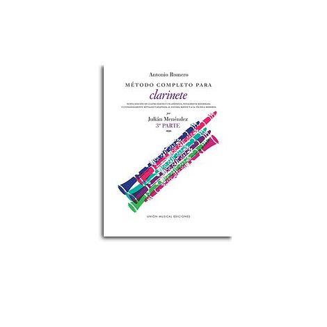 Romero Metodo Completo Para Clarinete (Menendez) Part 3