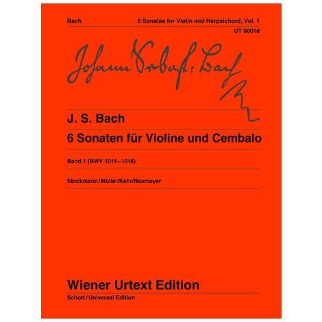 Bach 6 Sonatas for Violin, Vol. 1