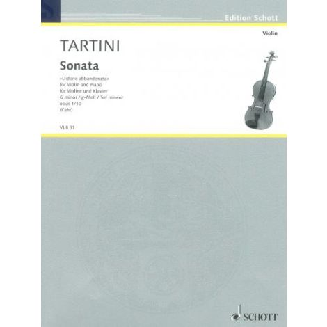 "Tartini: Violin Sonata in G minor \Didone abbandon"""""""
