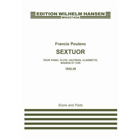 Francis Poulenc: Sextuor (A3 Score/Parts)
