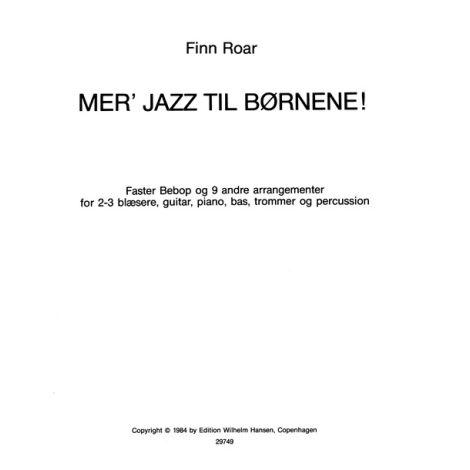 Finn Roar: Mer' Jazz Til B闂備焦澹唍ene (Book)