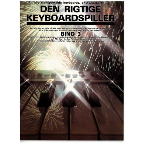 Kenneth Baker: Den Rigtig Keyboardspiller 3