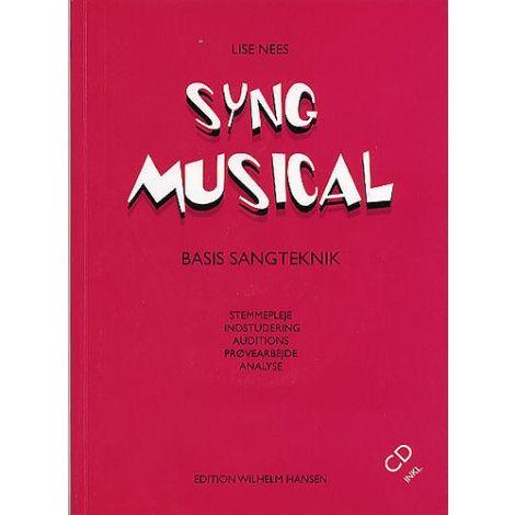 Lise Nees: Syng Musical (Bog Og Cd)