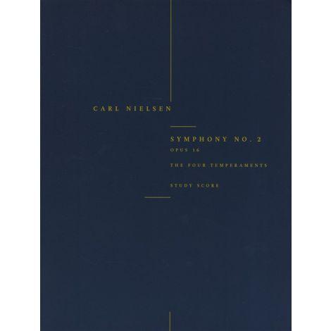Carl Nielsen: Symphony No.2 'The Four Temperaments' Op.16 (Study Score)