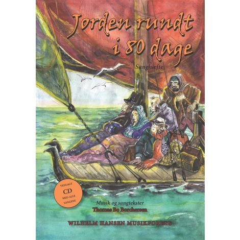 Thomas Bo Borchersen: Jorden Rundt i 80 Dage (Songbook/CD)