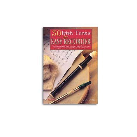 30 Irish Tunes For Easy Recorder