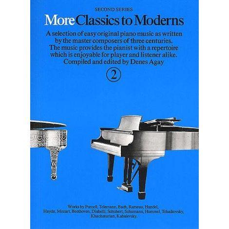More Classics To Moderns Book 2 (Piano Solo)