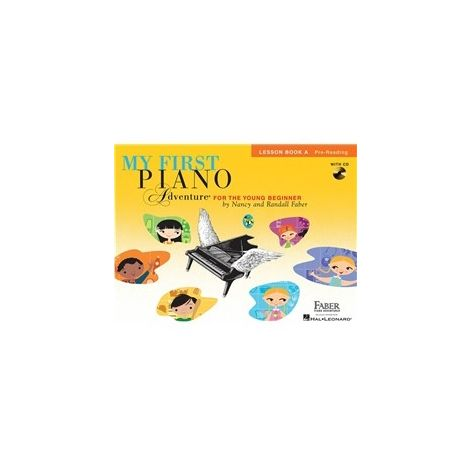 Faber Piano Adventures: My First Piano Adventure - Lesson Book A/CD