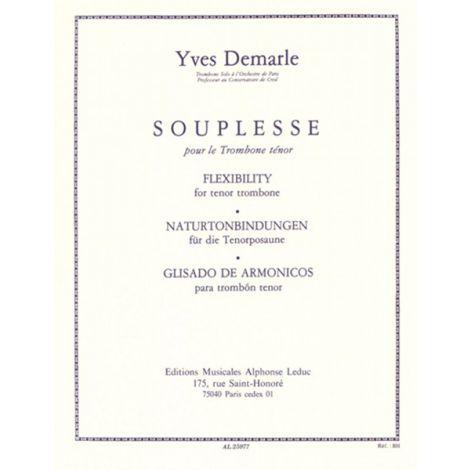 Souplesse/Flexibility For The Trombone