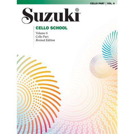 Suzuki Cello School 6 (Revised)