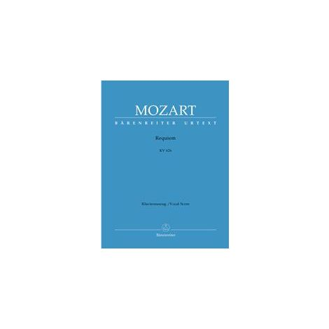 Mozart Requiem (K.626) Vocal Score (Choir)