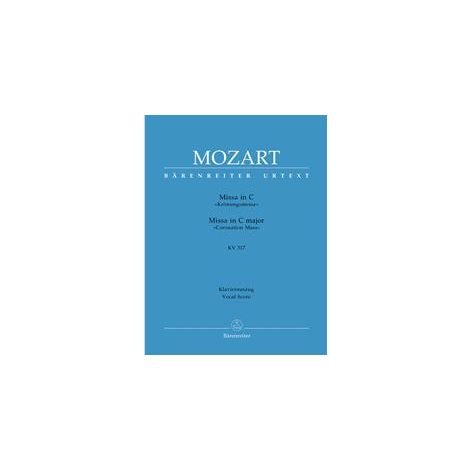 Mozart Mass in C major (K.317) (Coronation Mass) (Vocal Score)