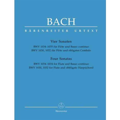 J.S. Bach: Four Flute Sonatas (Barenreiter Urtext Edition)