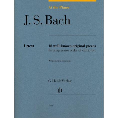 At The Piano - Bach