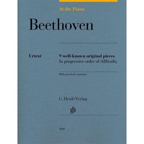 At The Piano - Beethoven