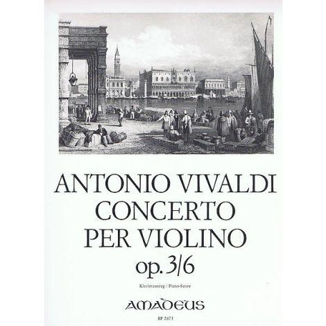 Vivaldi Violin Concert A minor Op. 3/6