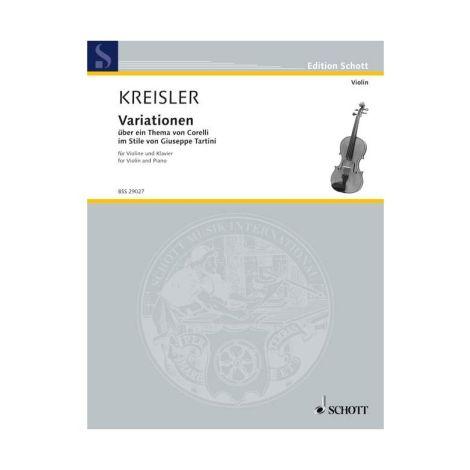 Kreisler: Variations of the theme by Corelli F major in the style of Giuseppe Tartini