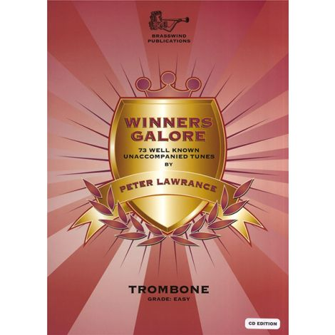 Winners Galore for Trombone (Bass Clef) Part with CD