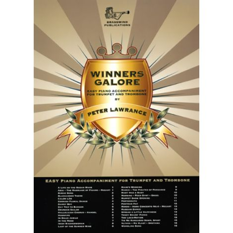 Winners Galore for Bb Treble Clef Brass (Piano Accompaniment)