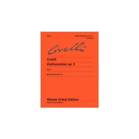 Corelli: Violin Sonatas, Op. 5, Vol. 1