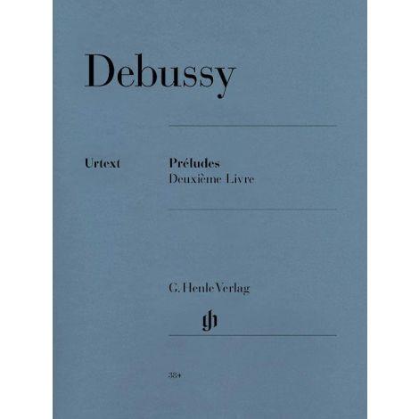 Debussy: Pr闂佽偐鍘у畷绠刣es, Deuxi闂佺粯姘ㄩ獮鈧琫 livre (Henle)
