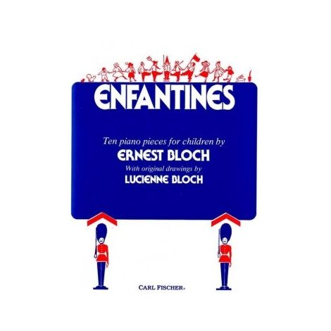 Bloch: Enfantines for Piano