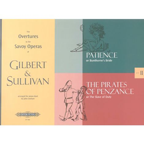 William Schwenck Gilbert - The Complete Overtures to the Savoy Operas Vol.2 (Edition Peters)