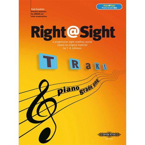 Right@Sight - Piano Grade 1, Johnson Ed: Evans