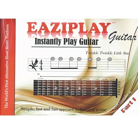 EAZIPLAY GUITAR PART 1